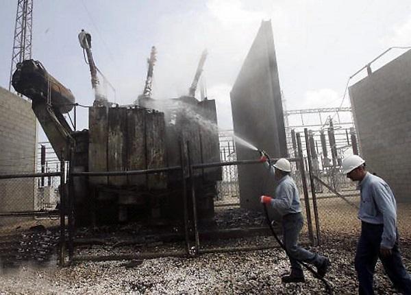 пожар в электроустановке