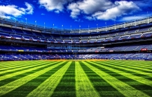 спортивный стадион